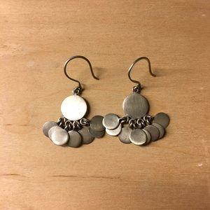 Jewelry - Jane Diaz Brushed Sterling Earrings